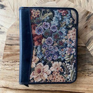 Embroidered Floral Year Planner